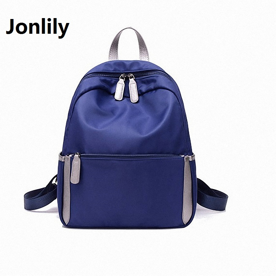 Jonlily Korean Style Women s Oxford Waterproof backpack Bags Fashion Trend Leisure All match Retro Travel
