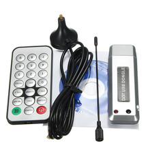 NEW-USB-2-0-Digital-DVB-T-SDR-DAB-FM-HDTV TV Tuner Receiver Stick FOR PC LAPTOP Silver
