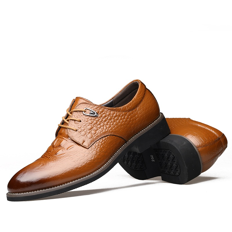 Respirant marron Bout Formelle Oxford D'affaires Chaussures Plat De Hommes Robe Aa50148 Mariage Noir Lacent Classique Pointu Homme xfnH0WPa