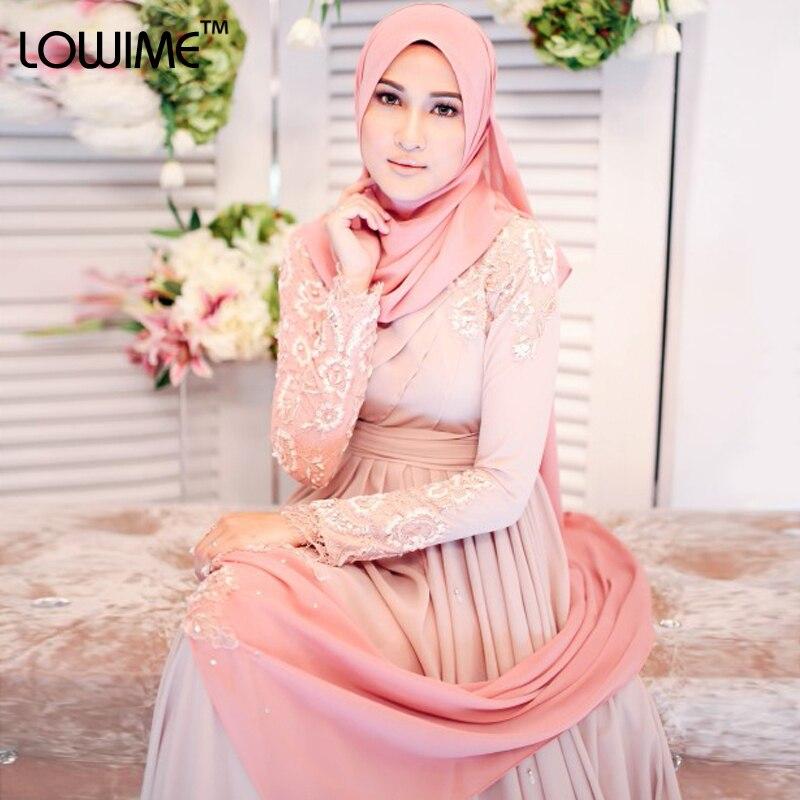 2015 Turkish font b Hijab b font Fashion Islamic Clothing Long Dress Long Sleeve Muslim Evening