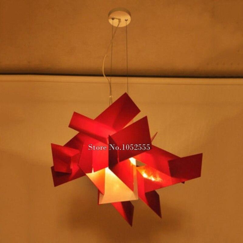 Nova dizajnerska svjetiljka Privjesci za privjeske sa velikim - Unutarnja rasvjeta - Foto 3