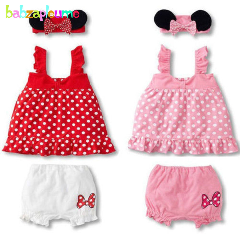 4f196d2f8 Aliexpress.com   Buy 3PCS 0 18Months Summer Style Baby Girls Outfit ...