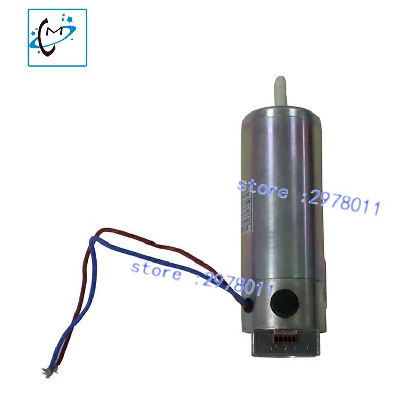 wholesale !!! Inkjet printer servo motor 55ZYTD51 spare part for Infiniti Aprint printer 8mm axis diameter  motor цена 2017