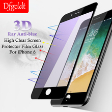 5D Anti-blue Ray High Clear Screen Protector Film Glass for iPhone X 8 7 6 6s Plus 9H HD Full Cover Tempered Glass for iPhone X dental barrier envelopes dental bags for x ray film 0 1 2 x ray film bags dental consumables materials sl453