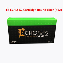 EZ ECHO-X2 Cartridge #12(0.35mm)  Round Liner 1209RL Tattoo Needle for Rotary Cartridge Tattoo Machine Pen 20PCS/Box