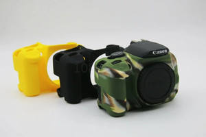 Bag Case Protective Silicone-Rubber Body-Camera 700D 650D Canon 600d Nice Soft for High-Quality