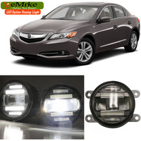 EEMRKE Car Styling For Acura ILX 2003 2004 2015 2016 2 In 1 Multifunction LED Fog
