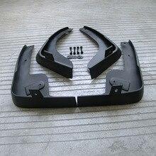 Free Shipping High Quality ABS Plastics Automobile Fender Mudguards Mud Flaps For 2005-2010 Nissan Tiida Versa