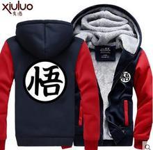 Heiße Neue Dragonball Hoodie Goku Sun Wukong Winter Fleece Herren Sweatshirts Kostenloser Versand