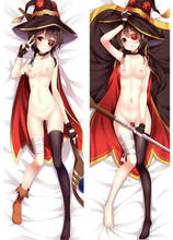 KonoSuba 2018 Dakimakura Megumin Hui Girl Hugging Body Pillow Case Covers 150CM(China)