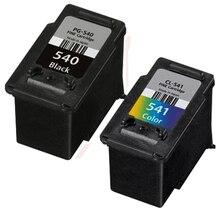 2 STÜCKE Kompatibel PG540XL Black & CL541XL Farbe Hohe Kapazität Foto Qualität Tintenpatrone Für Canon PIXMA MG3150 Drucker