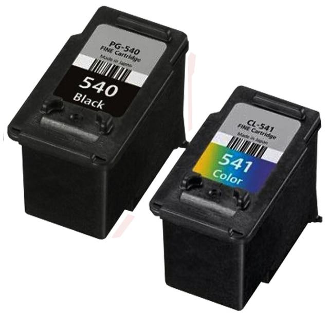2PCS Compatible PG540XL Black & CL541XL Colour High Capacity Photo Quality Ink Cartridge For Canon PIXMA MG3150 Printer