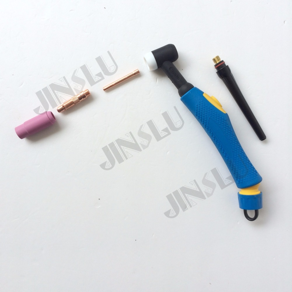 ୧ʕ ʔ୨WP17 WP-17 Tig Welding Torch Blue Head Body Air Cooled Argon ...