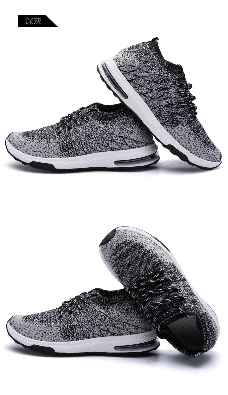 HTB1YSLRPmzqK1RjSZFjq6zlCFXaB Men Shoes Beathable Air Mesh Men Casual Shoes Slip on Fall Sock Shoes Men Sneakers Tenis Masculino Adulto Plus Size 46