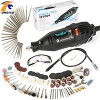 Tungfull Dremel Style Electric Drill Mini Drill Engraver Rotary Tool Accessory Set Engraver Tool Jewellery Woodworking