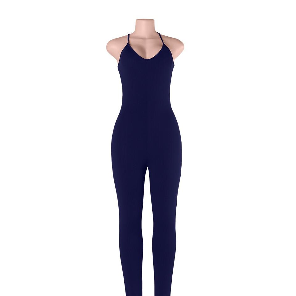 Sedrinuo 2017 lato new arrival regularne casual mody szyi sexy pajacyki kobiet kombinezon kombinezon dla kobiet 6 kolory 7160 24