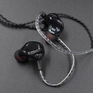 Image 3 - KZ ZS3 ergonomik ayrılabilir kablo kulak içi kulaklık ses monitörleri gürültü izole HiFi müzik spor mikrofonlu tekli kulaklıklar es