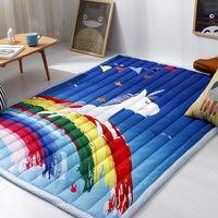 Baby/Child Antiskid security Crawl mat Unicorn Printed Thick Kids Game Carpet cartoon Home tatami area rug and Carpets Yoga Mats