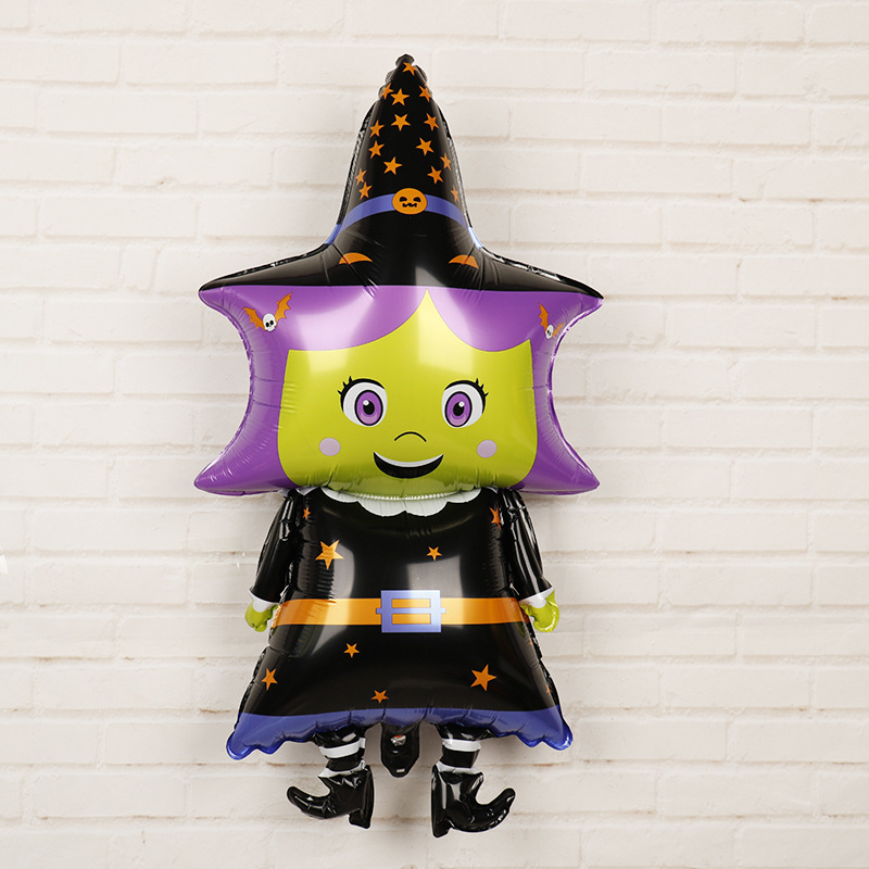 HTB1YSMdamWD3KVjSZSgq6ACxVXaK - Halloween Party Decoration Balloons Halloween Witch Ghost Decoration Kids Favors Halloween Props Accessories Party Supplies