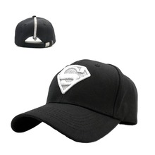 Mujeres Hombres diamante brillante superman algodón Gorras planas S bordado  Hip Hop Casquette Snapback sombreros( f5aedf32759