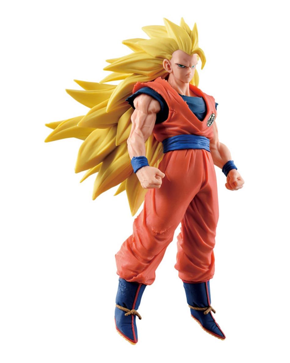 все цены на  Chanycore Anime Dragon Ball Z PVC STAND Son GOKU Super Saiyan 3 SCultures BIG Tenkaichi Budokai Action Figure Toys Dolls  онлайн