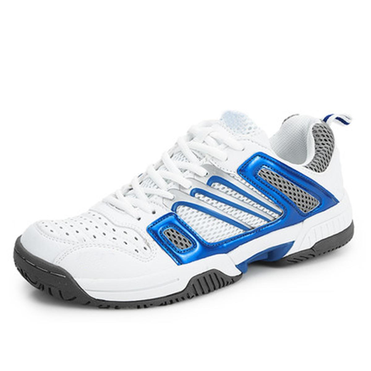 ФОТО Men Women Unisex Badminton Shoes Anti Slipper Soft Sneakers Professional Tennis Sport Training Shoes(91)