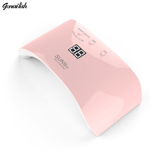 genailish 24W SUN9SE  Nail Lamp UV LED Nail dryer 12 LEDs UV lamp for Nails Curing All Gels Auto Sensor Nail Art Tools