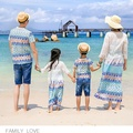 2017 bohemian dresses t shirt argyle cotton child mother and daughter clothes matching family clothing  family look 178jy