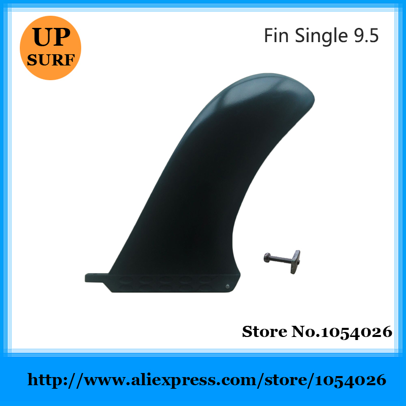 Longboard Fins 9.5Length High Quality Center Fins/Single Surfboard Fins 9.5 inch Center Fins With Screw 10 inch surfing longboard fins quilhas paddle surfboard longboard fins fiberglass wakeboard fins