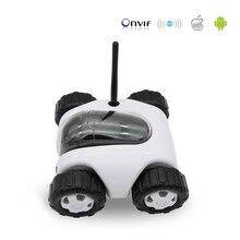 WiFi RC Coche Espía Remoto Robot 960 p Control Remoto Soporte de Teléfono Inteligente de Carga Inalámbrica incorporada 8G TF Tarjeta cámara ip