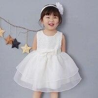 ヴィンテージレースの赤ちゃんガール結婚式ページェントドレス幼児プリンセスリトル女の子1年誕生日パーティードレス新生児洗礼ガウン