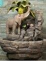 Высокого класса гостиная фонтан. лаки слон и увлажнитель.