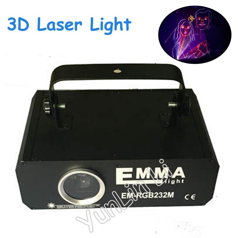 1.2W full color laser light 1 watt animation SD card programmable private room bar lights 3D laser lights stage light цены онлайн
