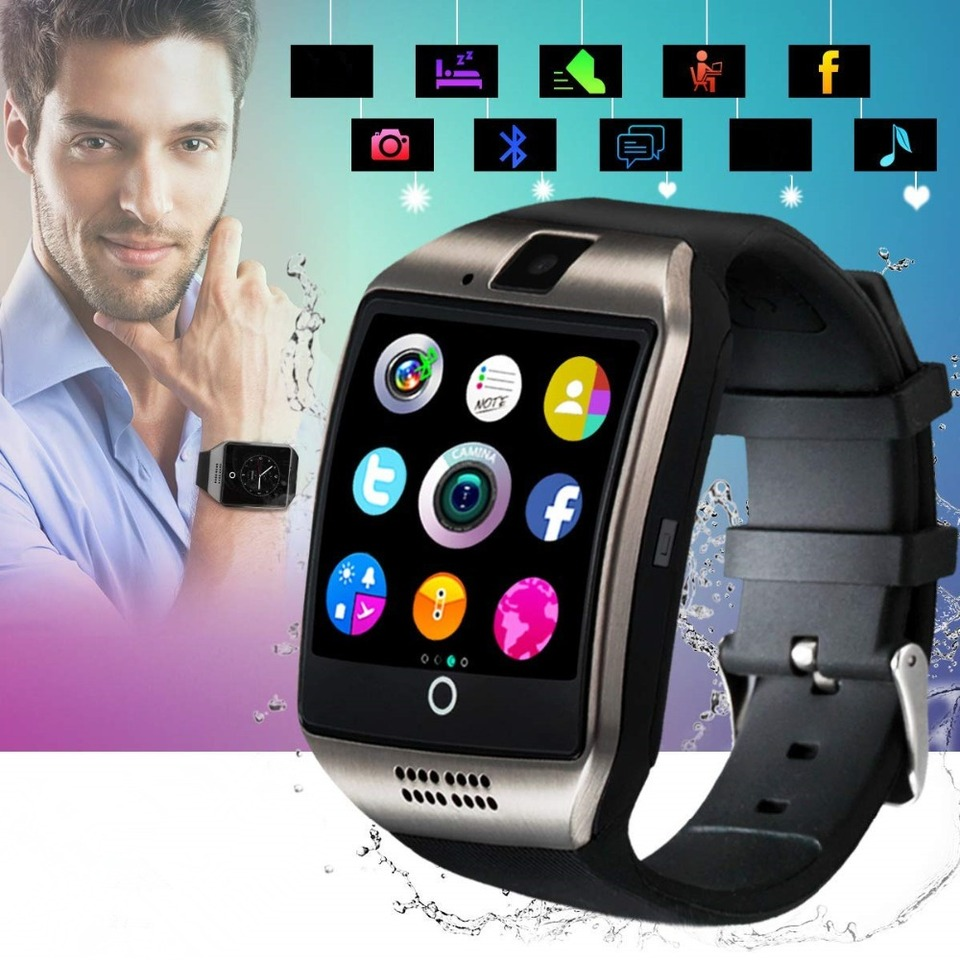 2019 Best Bluetooth Android Compatible Smart Watch Touchscreen Fitness Tracker Mobile Cell Phone Smartwatch For Men Smat Watch Smart Watches Aliexpress
