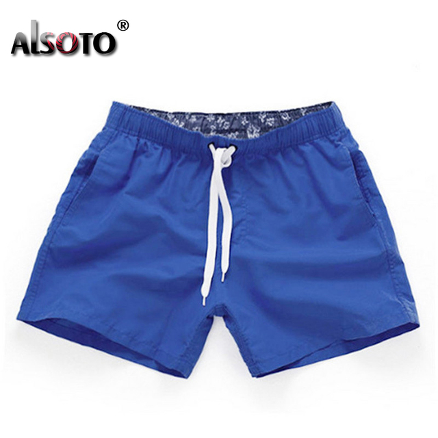 Swimsuit Beach Quick Drying Trunks For Men Swimwear sunga Boxer Briefs zwembroek heren mayo Board shorts Fast Dry Trunks 3