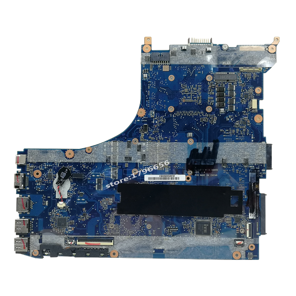 Exchange ! Laptop motherboard for ASUS ROG GL552VW GL552VL GL552VX GL552V ZX50V  mainboard i7-6700HQ GTX960M GTX950M