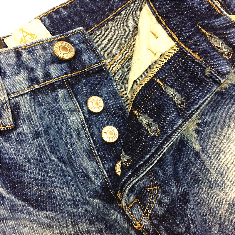 2014 Destroyed Dirty Ripped Distress Jeans-Shorts mit hoher Taille - Damenbekleidung - Foto 5