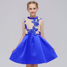 2019 Summer Flower Girl Dresses For Wedding Party Formal Gown Little First Communion Dress In Stock Hot Sale