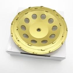 4 inch 5 inch 7 inch 100mm 125mm 180mm PCD Slijpen Cup Wiel Epoxy Verf Lijm Mastiek schurende Residu Removal