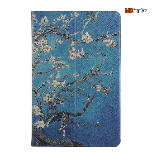 MDFUNDAS High Quality Stand Flip Tablet Cover For Samsung Galaxy Tab A A6 P585 Oli Painting PU Leather Case For Galaxy Tab A A6 luxury flip stand case for samsung galaxy tab 3 10 1 p5200 p5210 p5220 tablet 10 1 inch pu leather protective cover for tab3