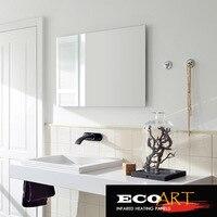 Eco Art 450W Comfort Waterproof Wall Mounted Electric Radiant Mirror Heaters For Bathroom
