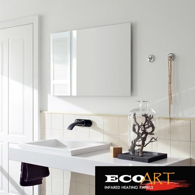 Amazing Eco Art 450W Comfort Waterproof Wall Mounted Electric Radiant Mirror Heaters  For Bathroom