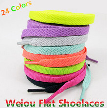 Hot Sales 1 Pair Shoelace Athletic Sport Sneakers Flat Shoelaces Bootlaces Shoe laces Strings For Multi Color 120cm/47″