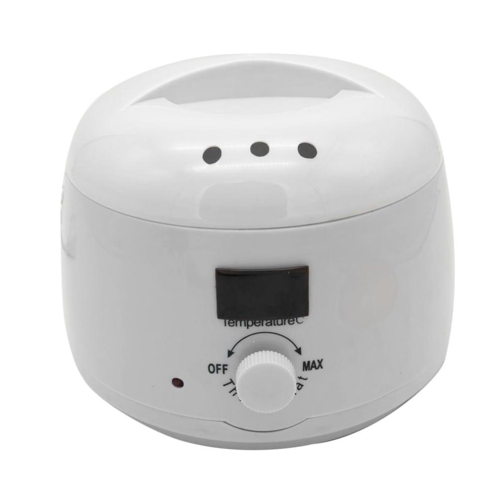 Wax Heater Epilator 500ml Hair Removal Machine SPA Hands Feet Depilatory Wax Machine Warmer Heater Epilator Painless Paraffin