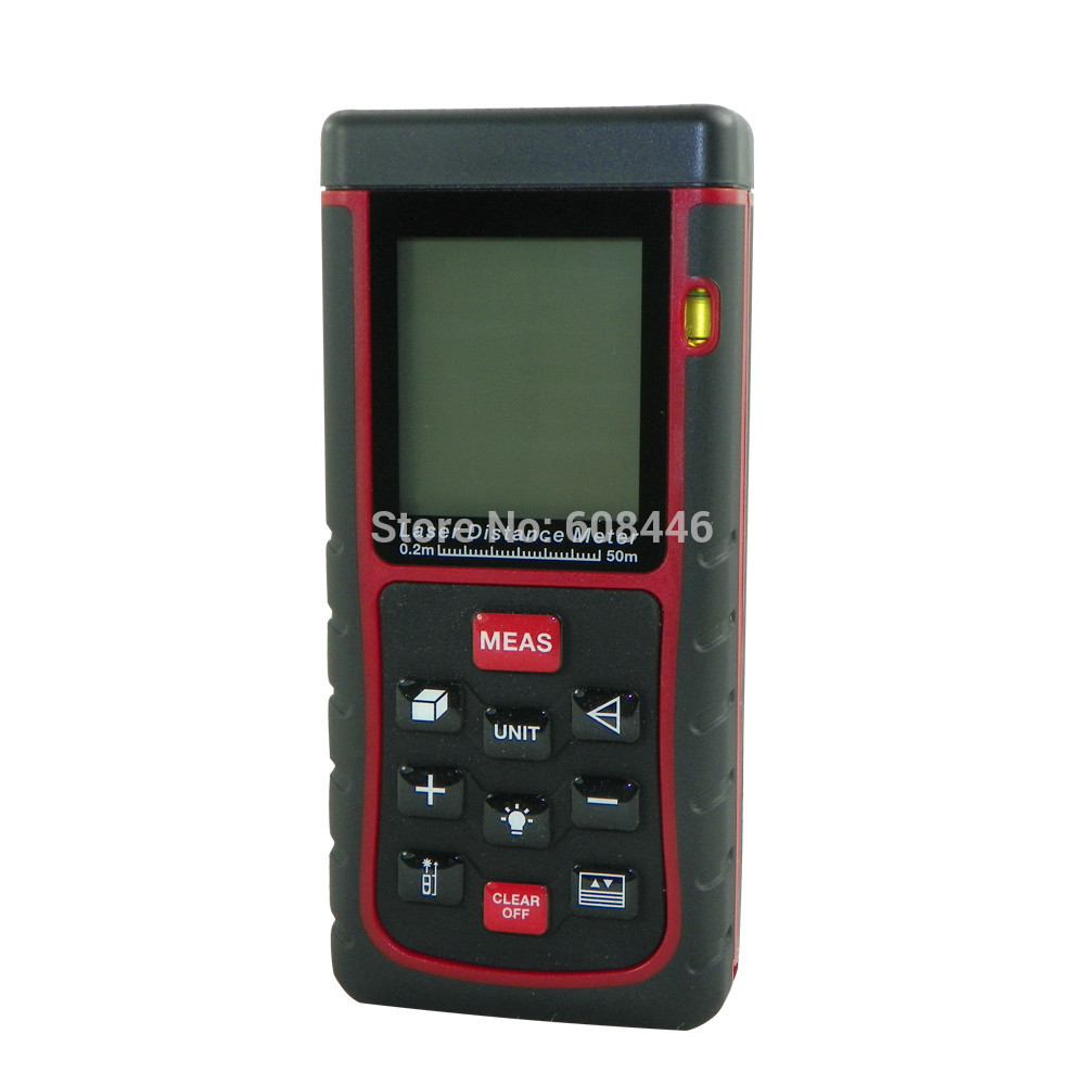 50m/164ft Mini Digital Laser Distance Meter tester Range Finder Measure Diastimeter
