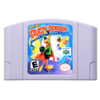 N64Game Looney Toons-Duck Dodgers Video Game Cartridge Console Card English Language US Version (Can Save)