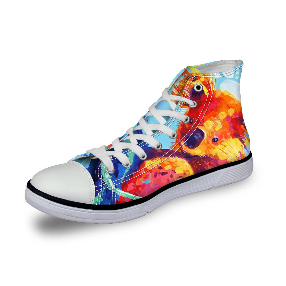 Noisydesigns señoras zapatillas de deporte mujeres 3D oso de - Zapatos de mujer - foto 1