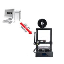 Лидер продаж Ortur 3D настольным принтером для PLA накаливания печать с резюме печать 260*310*305 мм магнитного построить пластины 3 к DPrinter