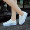 2016 Envío Libre Zapatos de verano femenino zapatos de skate cordón plana zapatos deportivos zapatillas zapatos casuales