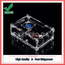 Raspberry Pi 2 generation Model B Acrylic assembly with fan